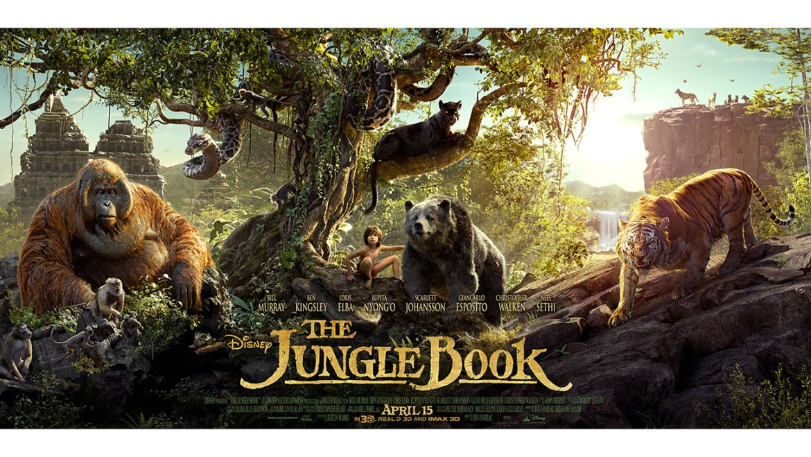 """New Clips and Featurette From """"The Jungle Book"""""""