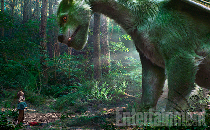 Check Out the Furry Dragon in Pete's Dragon!
