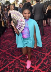 HOLLYWOOD, CA - MAY 23: Actress Trinitee Stokes attends Disney's 'Alice Through the Looking Glass' premiere with the cast of the film, which included Johnny Depp, Anne Hathaway, Mia Wasikowska and Sacha Baron Cohen at the El Capitan Theatre on May 23, 2016 in Hollywood, California. (Photo by Alberto E. Rodriguez/Getty Images for Disney) *** Local Caption *** Trinitee Stokes
