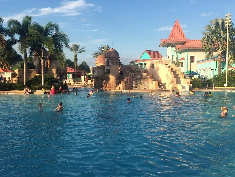 Three Pool Closures at Disney's Caribbean Beach Resort This Summer