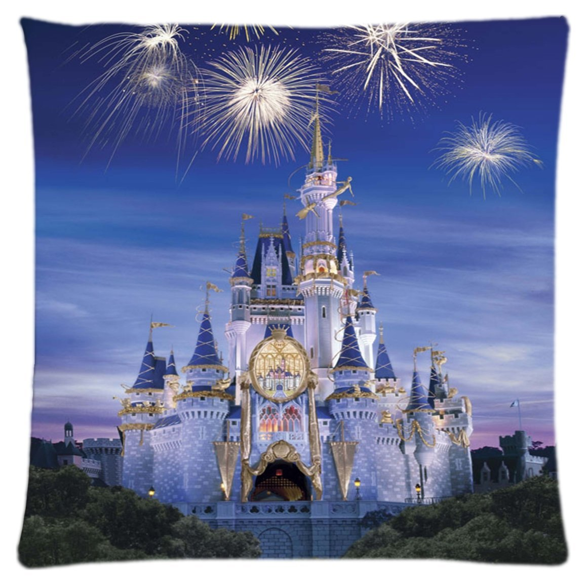 Celebrate the Magic at Home with the Disney Castle Pillow Cover