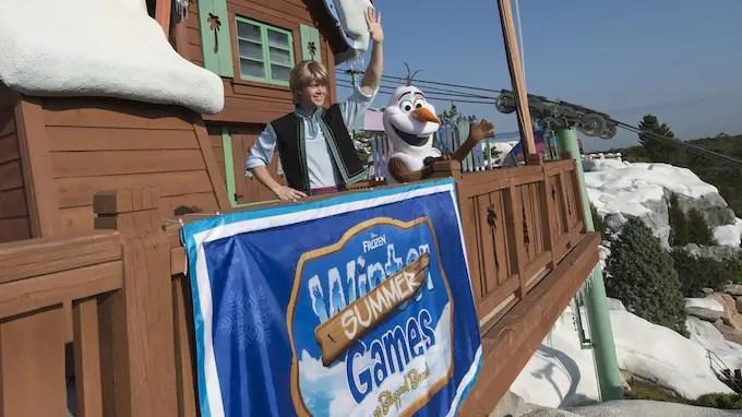 'Frozen' Summer Games have Returned to Disney's Blizzard Beach