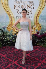 """Emeraude Toubia arrives at The US Premiere of Disney's """"Alice Through the Looking Glass"""" at the El Capitan Theater in Los Angeles, CA on Monday, May 23, 2016. .(Photo: Alex J. Berliner/ABImages)"""