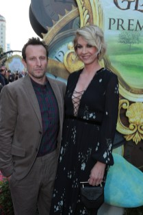 """Bodhi Elfman and Jenna Elfman arrive at The US Premiere of Disney's """"Alice Through the Looking Glass"""" at the El Capitan Theater in Los Angeles, CA on Monday, May 23, 2016. .(Photo: Alex J. Berliner/ABImages)"""