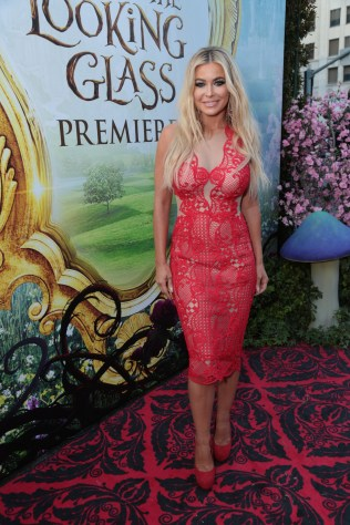 """Carmen Electra arrives at The US Premiere of Disney's """"Alice Through the Looking Glass"""" at the El Capitan Theater in Los Angeles, CA on Monday, May 23, 2016. .(Photo: Alex J. Berliner/ABImages)"""