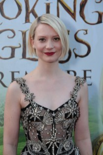 """Mia Wasikowska arrives at The US Premiere of Disney's """"Alice Through the Looking Glass"""" at the El Capitan Theater in Los Angeles, CA on Monday, May 23, 2016. .(Photo: Alex J. Berliner/ABImages)"""