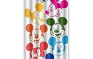 Disney Find- Colorful Retro Mickey Shower Curtain