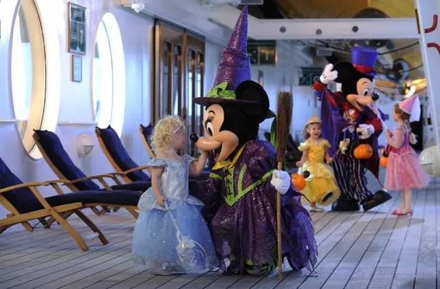 Halloween on the High Seas with the Disney Cruise Line