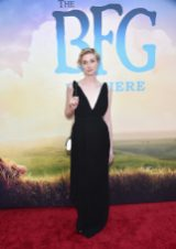 """HOLLYWOOD, CA - JUNE 21: Actress Elizabeth Debicki arrives on the red carpet for the US premiere of Disney's """"The BFG,"""" directed and produced by Steven Spielberg. A giant sized crowd lined the streets of Hollywood Boulevard to see stars arrive at the El Capitan Theatre. """"The BFG"""" opens in U.S. theaters on July 1, 2016, the year that marks the 100th anniversary of Dahl's birth, at the El Capitan Theatre on June 21, 2016 in Hollywood, California. (Photo by Alberto E. Rodriguez/Getty Images for Disney) *** Local Caption *** Elizabeth Debicki"""