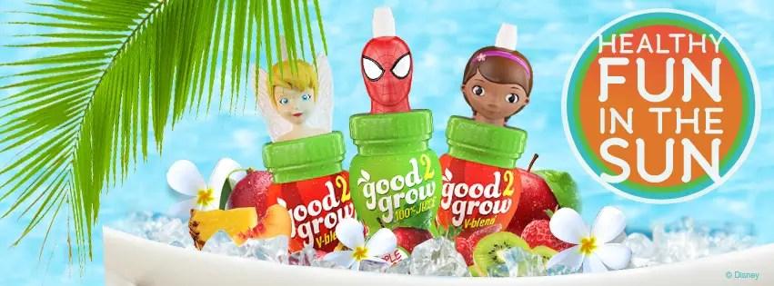 Good2Grow Nutritious Disney Themed Drinks on the Go