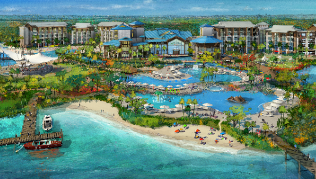 The Margaritaville Resort is coming soon to Orlando!