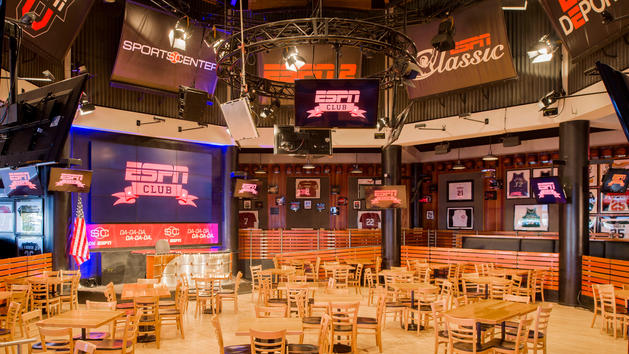 ESPN Club at Disney's Boardwalk Now Accepting Lunch Reservations