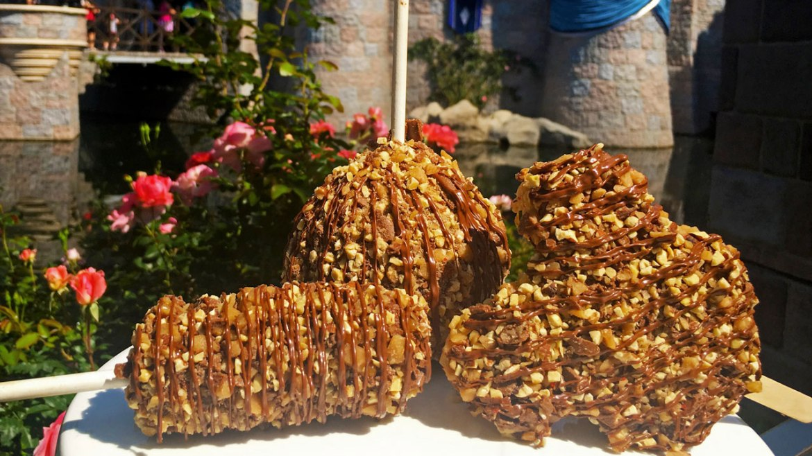 This July be Sure to Try Disneyland's New Toffee Gourmet Treats