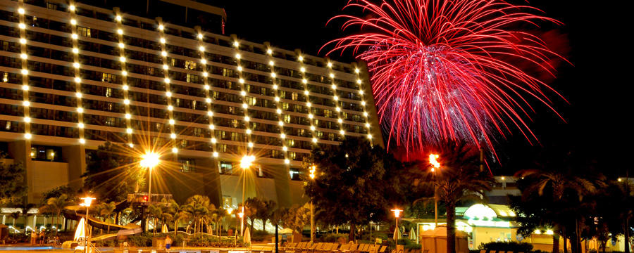 Enjoy a New Year's Eve celebration like no other at Disney's Contemporary Resort