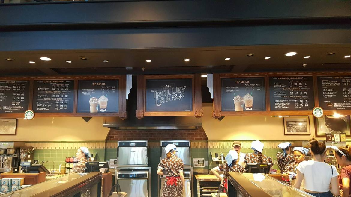 Cupcakes at Hollywood Studios now have a New Home in the Trolley Car Cafe