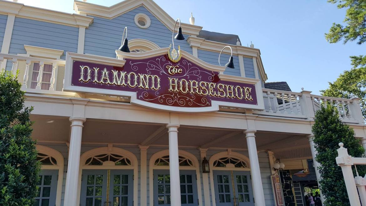 The Diamond Horseshoe Advanced Dining Reservations now Available