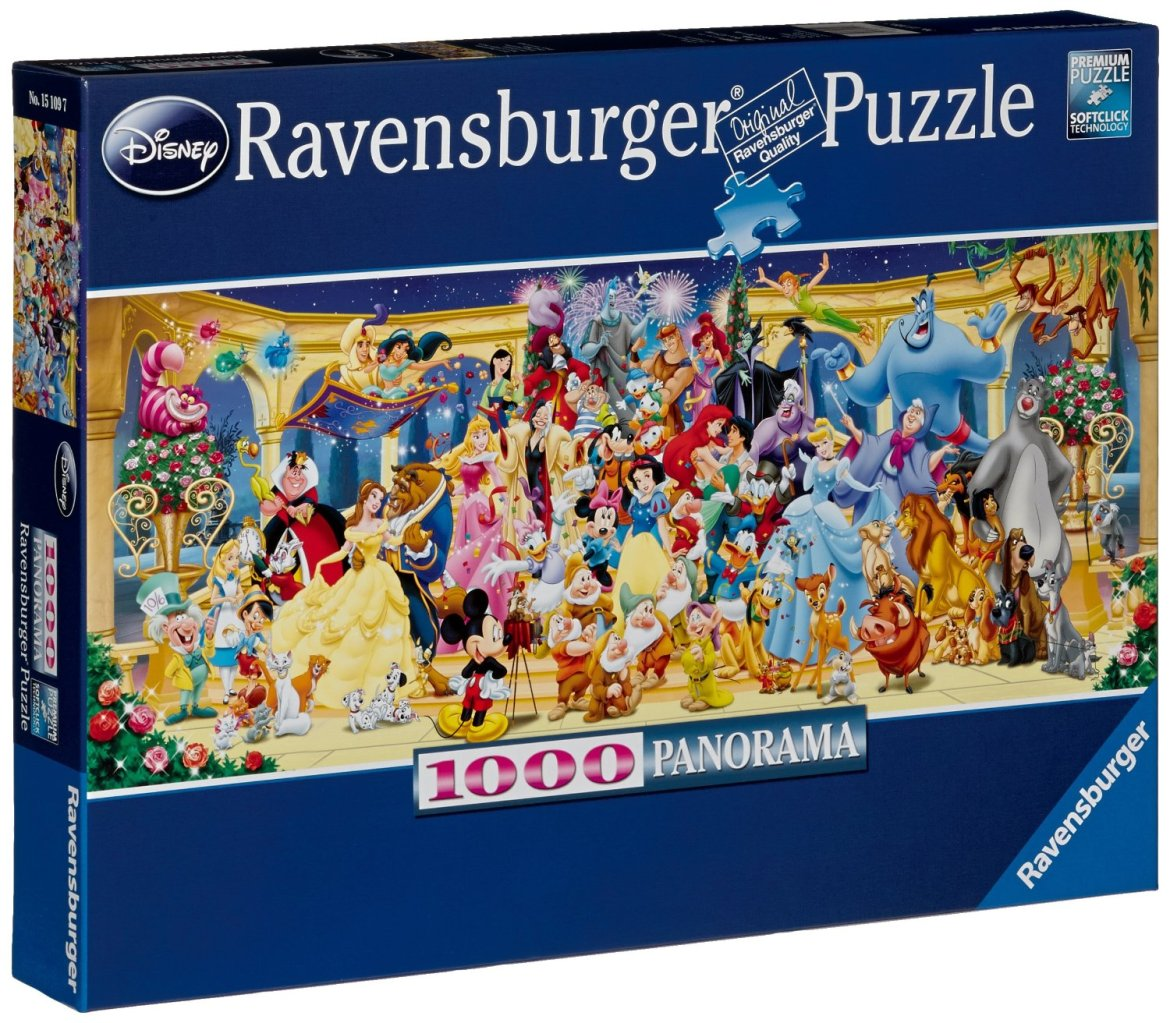 Top 5 Favorite Disney Puzzles For a Cozy Winter Night In