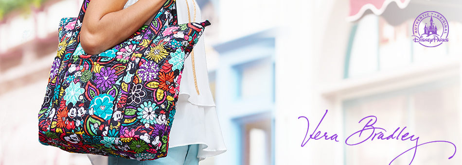 The Vera Bradley Mickey's Magical Blooms Collection