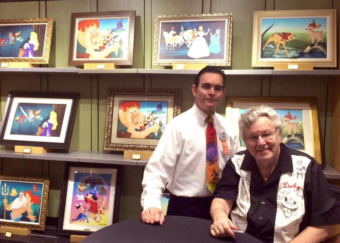 "Meet Disney Artists Don ""Ducky"" Williams & Gene Gonda at The Art of Disney"