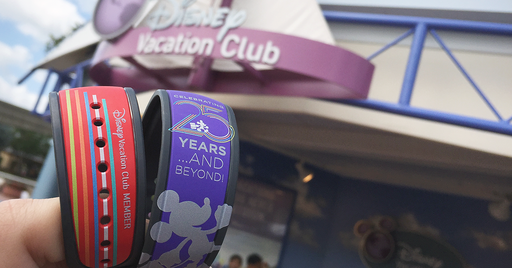 Celebrate The Disney Vacation Club with DVC 25th Anniversary Magic Bands