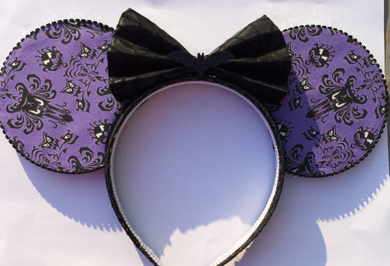 These Boo-tiful Haunted Mansion Mouse Ears are Spook-tacular