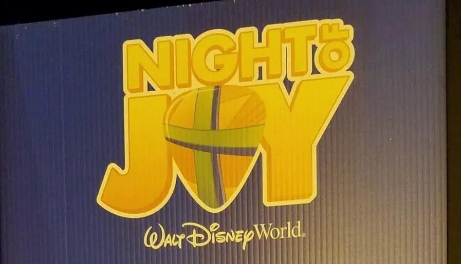 2017 dates announced for Night of Joy at Walt Disney World Resort