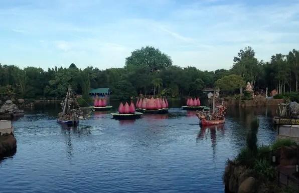 Disney is testing Rivers of Light Again!