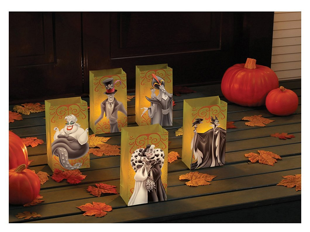 Haunted Decorations with Disney Villains Luminary Kit