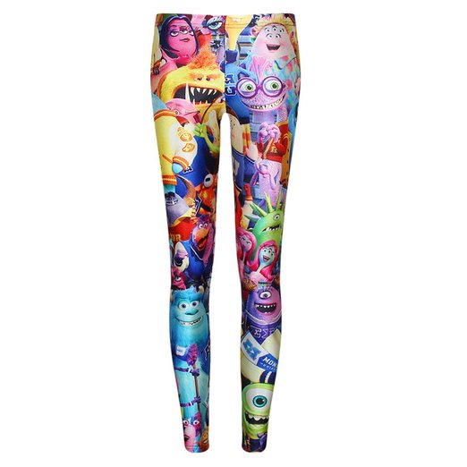 Add Some Screams to your Wardrobe with Monsters University Leggings