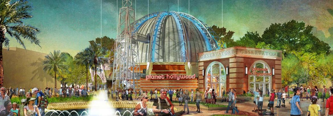 Planet Hollywood in Disney Springs is now hiring full and part time employees
