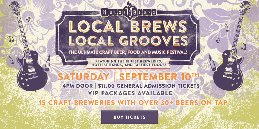 House of Blues at Disney Springs is Hosting Two Craft Beer Events During September