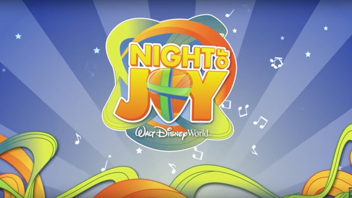Disney's Night of Joy Tickets Still Available for September 9th and 10th