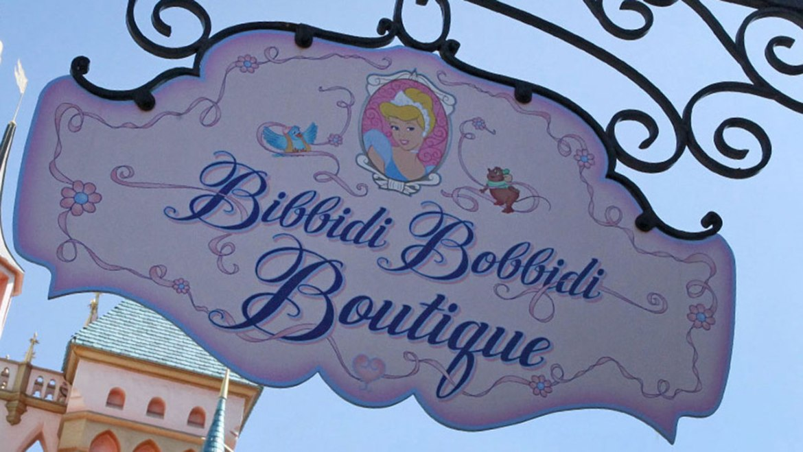 Special Bibbidi Bobbidi Boutique offer at Disneyland during Mickey's Halloween Party