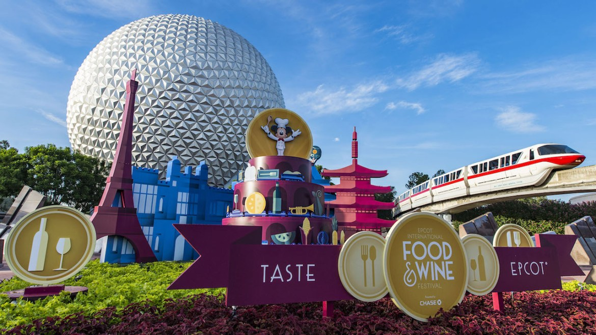 Dates Announced for the 2017 Epcot Food & Wine Festival