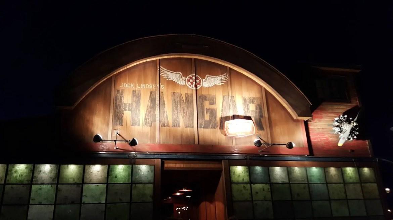 Jock Lindsey's Hangar Bar offering Happy Hour