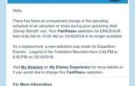 Disney Extends Refurbishment for Dinosaur in the Animal Kingdom