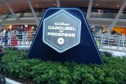 Guests jump on stage at Carousel of Progress