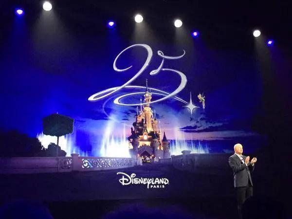 Disneyland Paris hints at 25th Anniversary Celebration