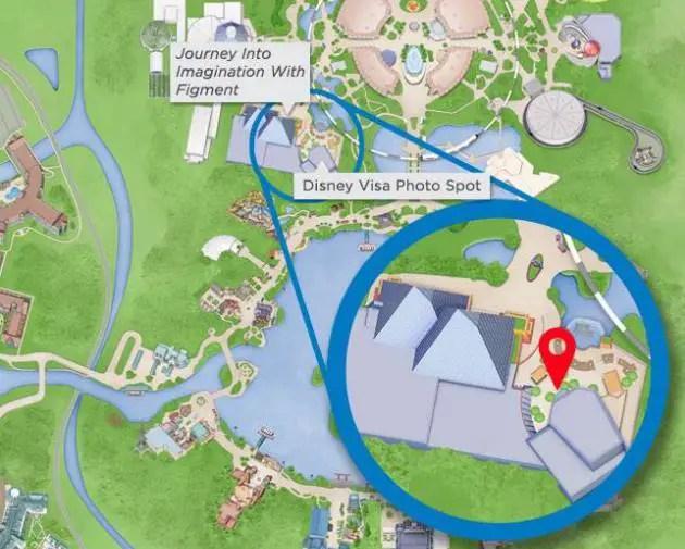 New Disney Visa Photo Spot Location Now Open at Epcot