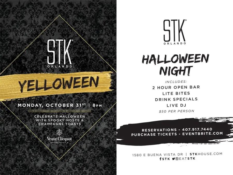 STK hosting Yelloween Bash on Halloween Night