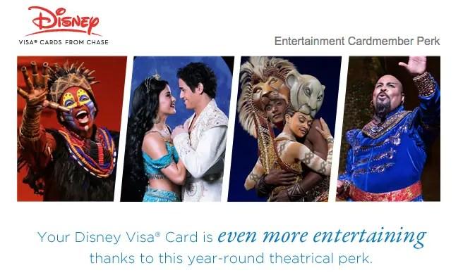 New Broadway Perks for Disney Visa Cardmembers