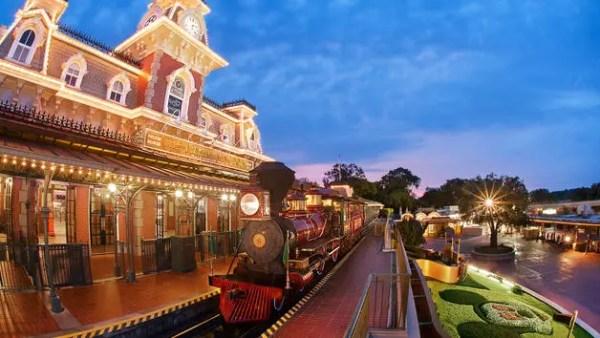 main street station and train