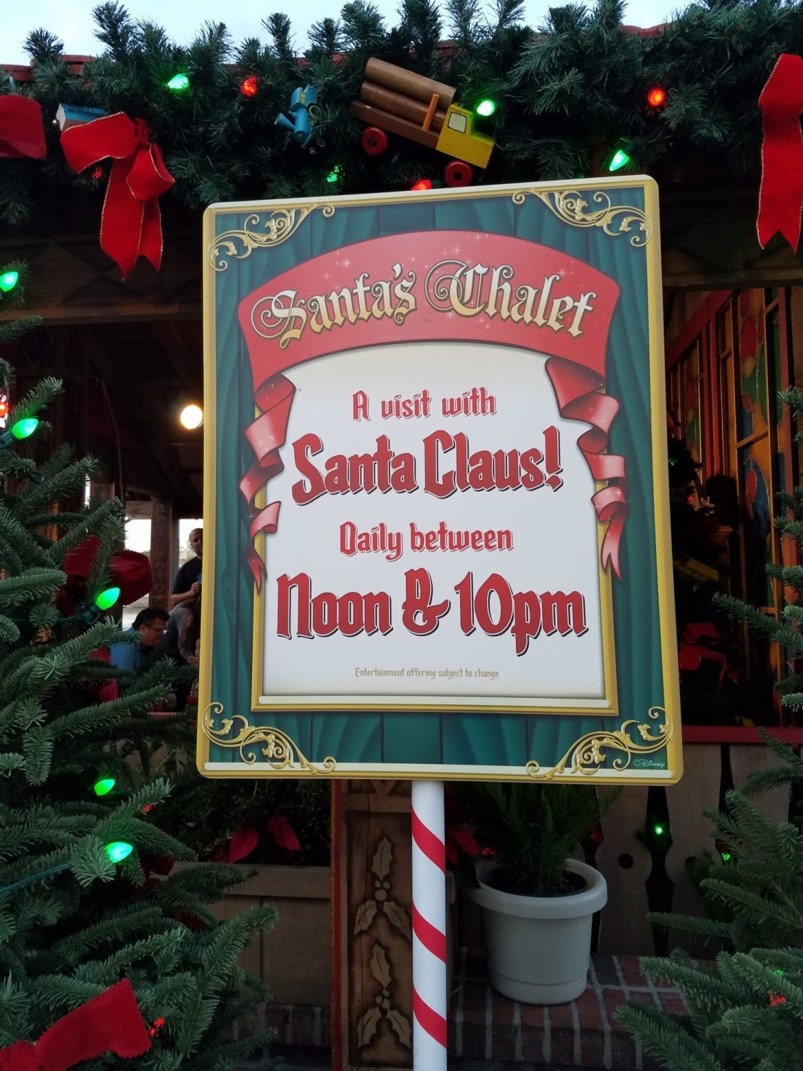 It's Time To Meet Santa Claus In His Chalet At Disney Springs