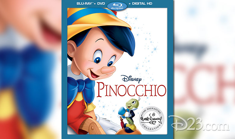 """""""Pinocchio"""" is coming to Disney Bluray & DVD!"""