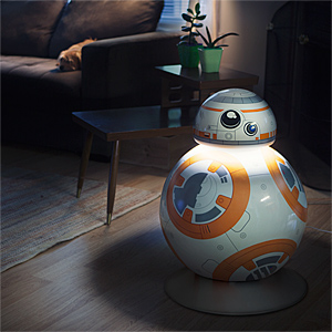 BB-8 Life-Size Floor Lamp Awakens the Force with Light