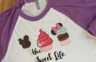 Too Cute to Eat Disney Sweet Life Raglan Tee Shirt