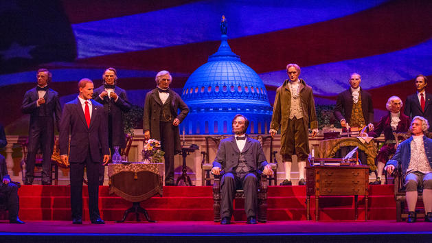 President-Elect Trump's Bust already in the works for The Hall of Presidents
