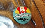 Grab a Special Parks Button to Celebrate Canada's 150th Birthday