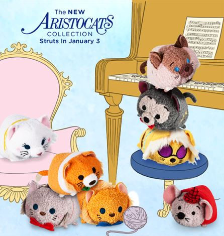 New Aristocats Tsum Tsum Collection Coming January 3rd!