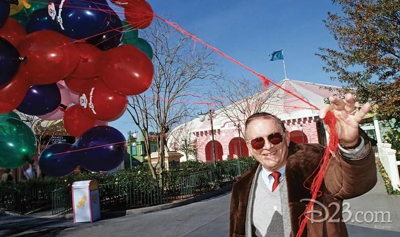 Disney Legend Charlie Ridgway has passed away